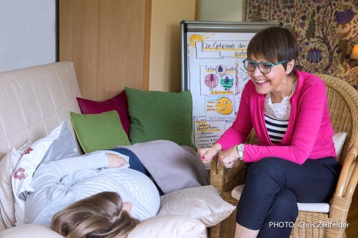 Beratung Doris Lenhard fuer eine Geburt ohne Gewalt